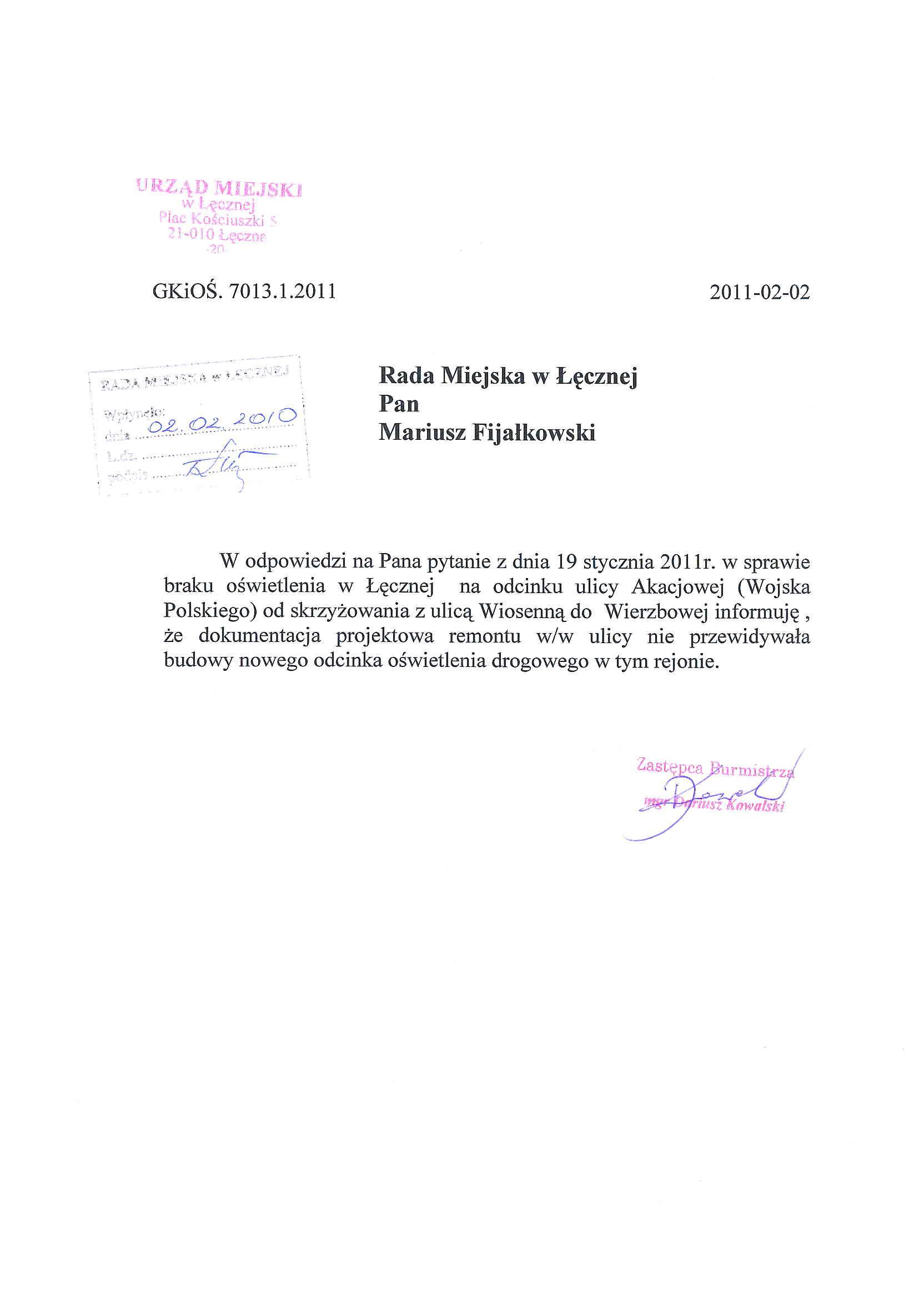 Mariusz Fijałkowski Radny Rady Miejskiej W łęcznej Part 10